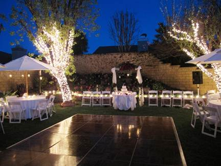 Some useful tips for wedding party design