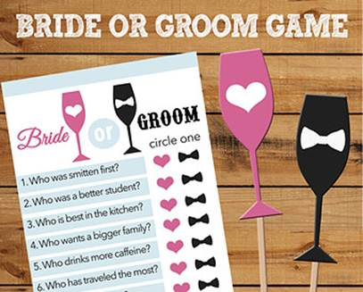 Different wedding engagement party games for you wedding for Different engagement party ideas
