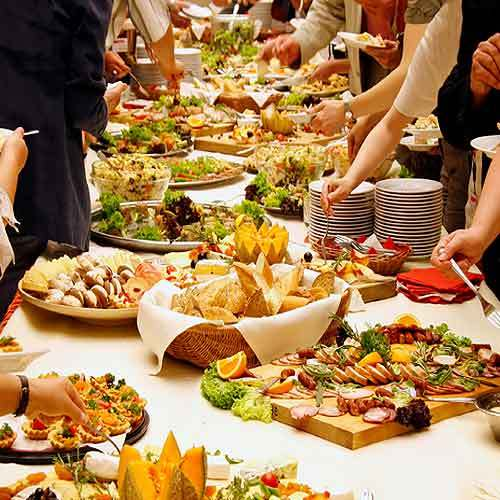 Some awesome wedding food concepts for you
